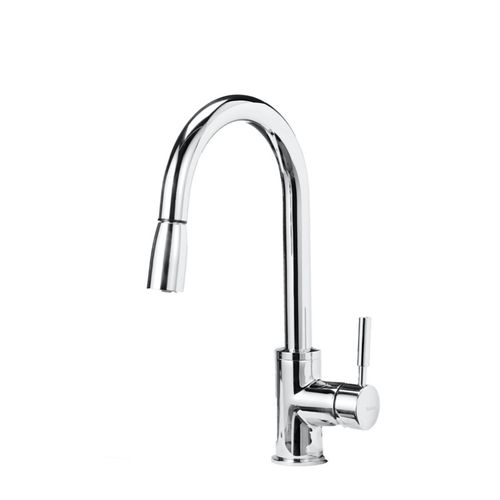 """Sonoma Single-Handle Pull-Down Kitchen Faucet in Polished Chrome - 15.5"""" High"""