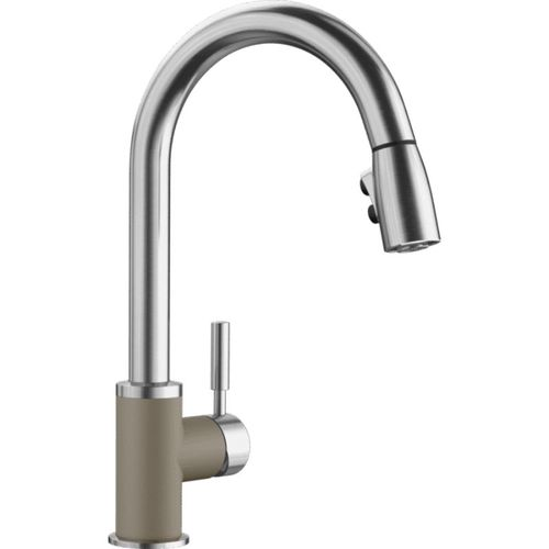 Sonoma Pull-Down Kitchen Faucet in Truffle Stainless