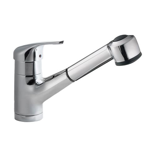 Antilles Pull-Out Single-Handle Kitchen Faucet in Polished Chrome