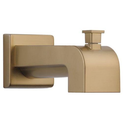 Vero Wall Mount Faucet in Champagne Bronze