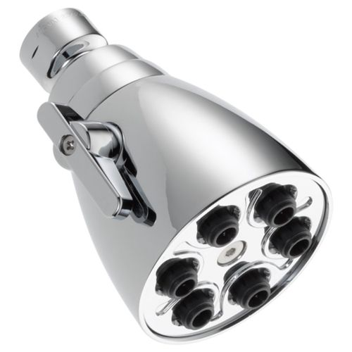 """Universal Showering Showerhead in Chrome with 1 Spray Setting - 3"""" Width"""