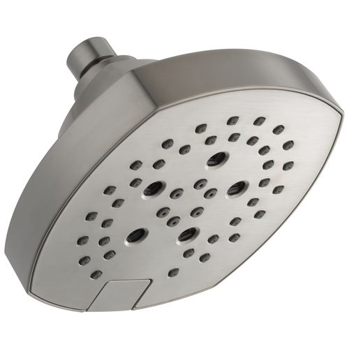 delta showerhead in stainless steal