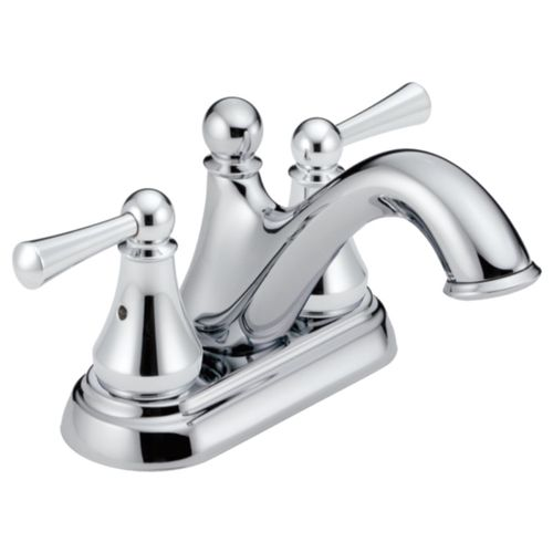 Haywood Centerset Two-Handle Bathroom Faucet in Chrome