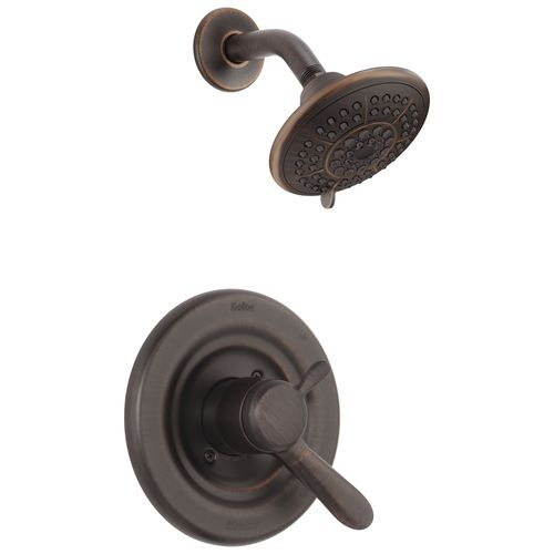 Lahara Single-Handle Shower Only Faucet in Venetian Bronze with Volume Control