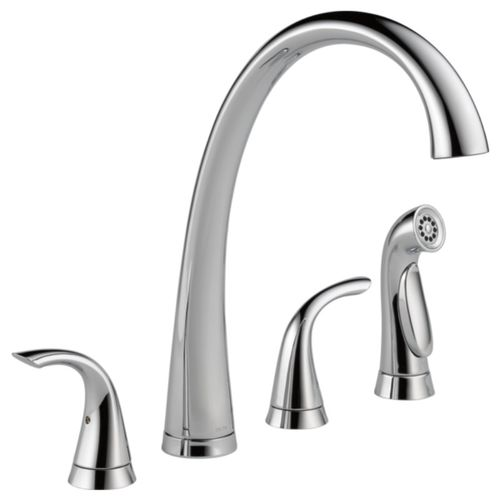 Pilar Pre-Rinse Kitchen Faucet in Chrome