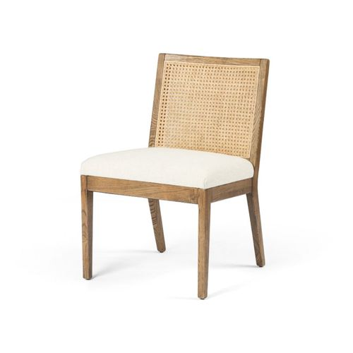 """Antonia Dining Chair in Light Natural Cane (22.25"""" x 23.5"""" x 33"""")"""