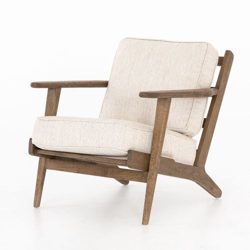 """Brooks Lounge Chair in Avant Natural (27.5"""" x 35.5"""" x 29.25"""")"""