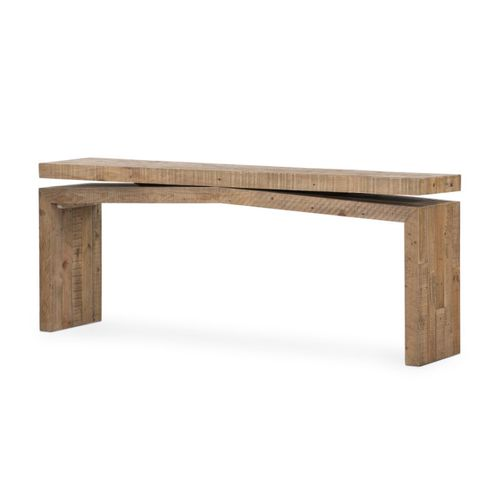 """Matthes Tables in Sierra Rustic Natural (83"""" x 19"""" x 14.5"""")"""