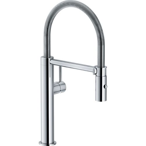 Pescara Pre-Rinse Pull-Down Kitchen Faucet in Polished Nickel