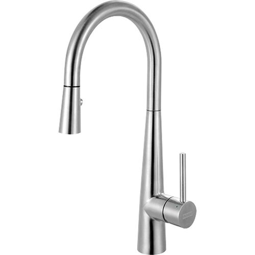 """Pull-Down Kitchen Faucet in Stainless Steel - 15.19"""""""