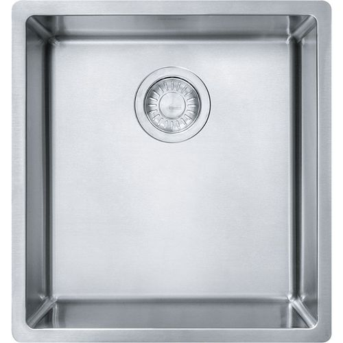 Cube 17.75'' Stainless Steel Single Basin Kitchen Sink with 21'' Minimum Cabinet Length