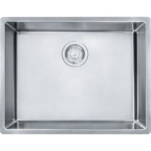 Cube 17.75'' Stainless Steel Single Basin Kitchen Sink with 27'' Minimum Cabinet Length