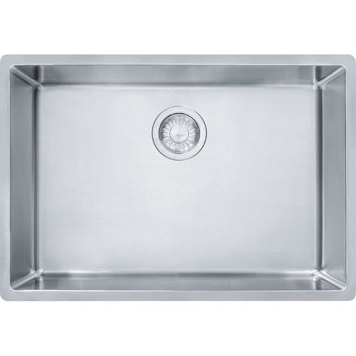 Cube 17.69'' Stainless Steel Single Basin Kitchen Sink with 30'' Minimum Cabinet Length