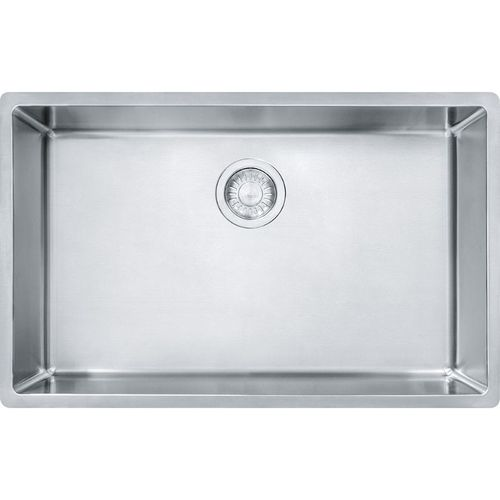 Cube 17.69'' Stainless Steel Single Basin Kitchen Sink with 33'' Minimum Cabinet Length