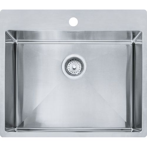 Vector Stainless Steel Single Basin Kitchen Sink in Stainless steel