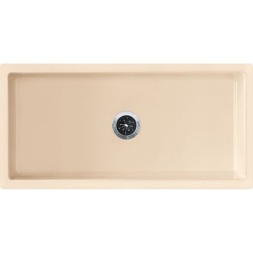 """Farmhouse 36.19"""" Fireclay Single Basin Undermount Apron Front Kitchen Sink in Biscuit"""