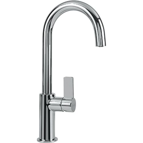 """Ambient Single-Handle Pull-Down Kitchen Faucet in Polished Chrome - 13"""""""