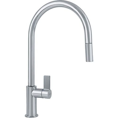 Ambient Single-Handle Pull-Down Kitchen Faucet in Satin Nickel - 16.5""