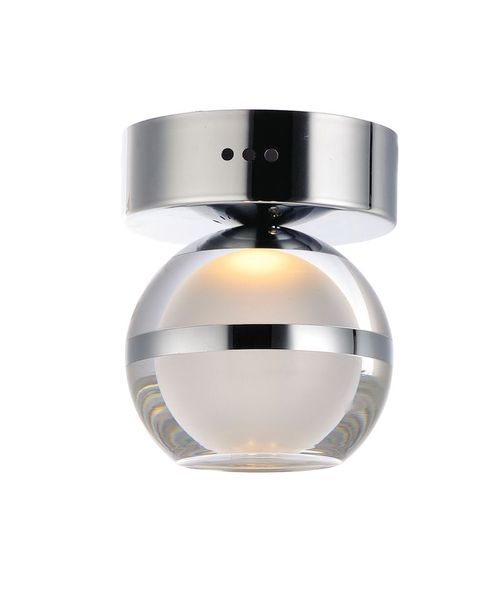 """Swank 4.75"""" Single Light Wall Sconce in Polished Chrome"""