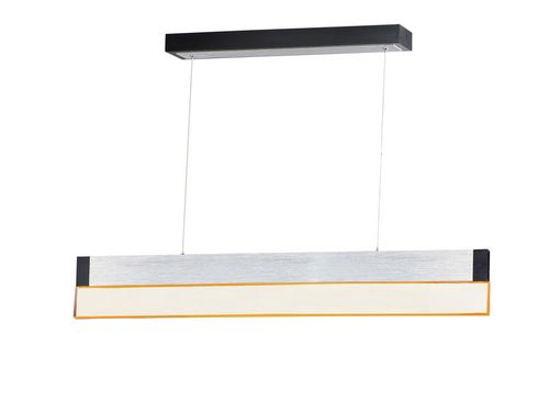 """iBar 4.75"""" x 6"""" Brushed Aluminum Friends of Hue with 1 Light with 2100 Lumens (Aluminum material)"""