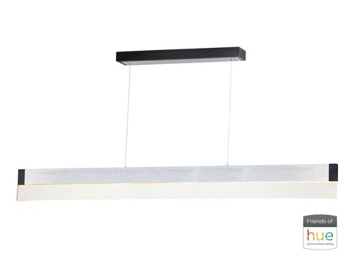 """iBar 4.75"""" x 6"""" Brushed Aluminum Friends of Hue with 1 Light with 2800 Lumens (Aluminum material)"""