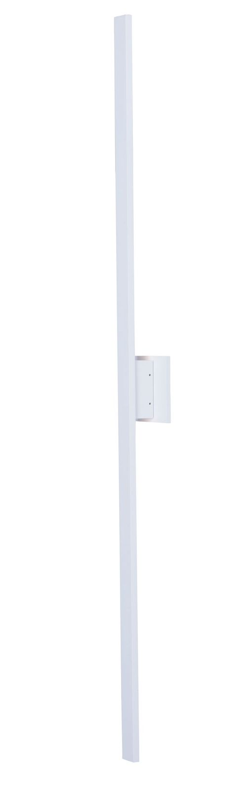 """Alumilux Sconce 51"""" 2 Light Outdoor Wall Mount Light in White"""