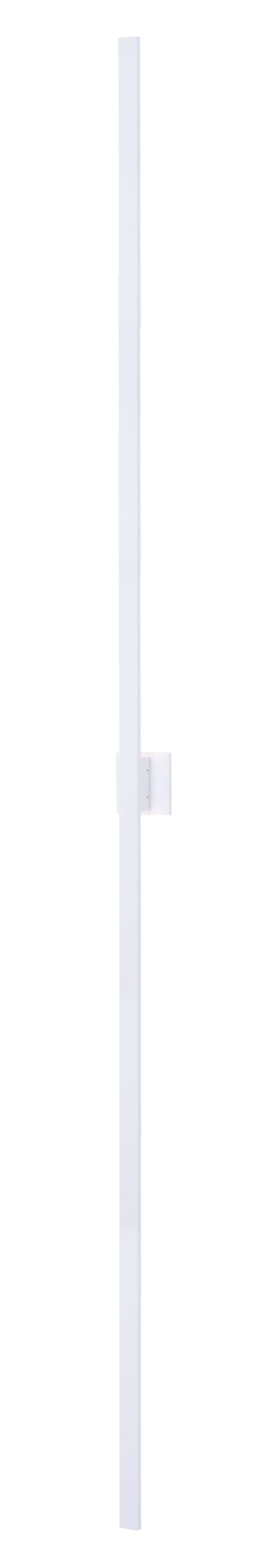 """Alumilux Sconce 96"""" 2 Light Outdoor Wall Mount Light in White"""