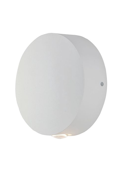 """Alumilux Sconce 4.75"""" 1-Light Outdoor Wall Mount - White"""