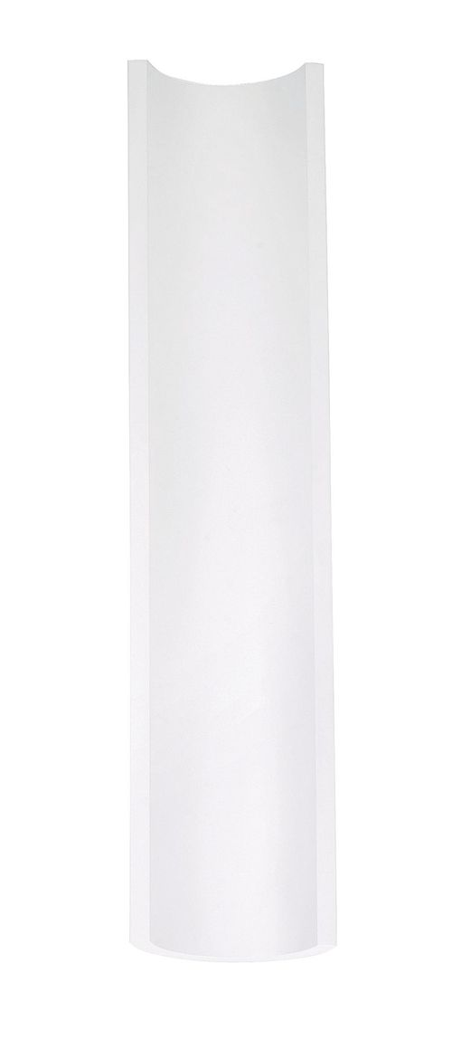 """Alumilux Sconce 23.64"""" Single Light Outdoor Wall Mount Light in White"""
