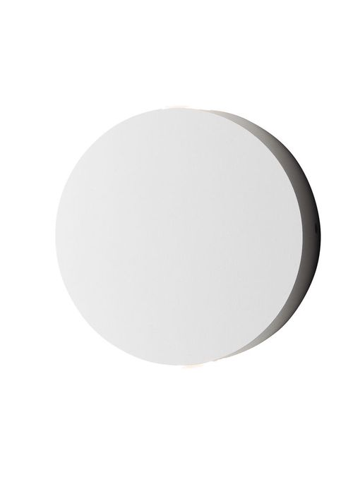 """Alumilux Sconce 4.75"""" 2 Light Outdoor Wall Mount Light in White"""