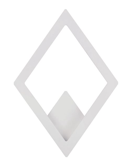 """Alumilux Sconce 13.5"""" 1-Light Outdoor Wall Mount - White"""