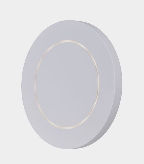 """Alumilux Sconce 7"""" 1-Light Outdoor Wall Mount - White"""