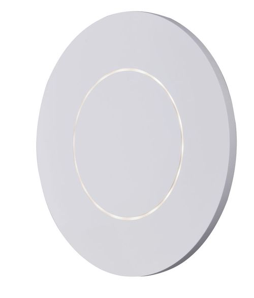 """Alumilux Sconce 11.75"""" Single Light Outdoor Wall Mount Light in White"""