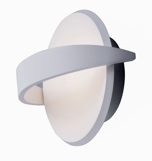 """Alumilux Sconce 9"""" Single Light Outdoor Wall Mount Light in White"""