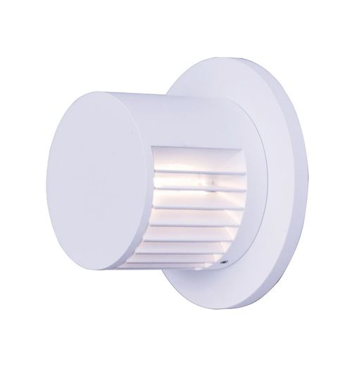 """Alumilux Sconce 4.5"""" 1-Light Outdoor Wall Mount - White"""