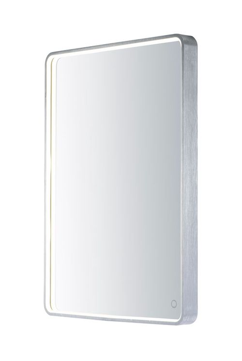 "Mirror 23.75"" 1-Light LED Mirror - Brushed Aluminum"