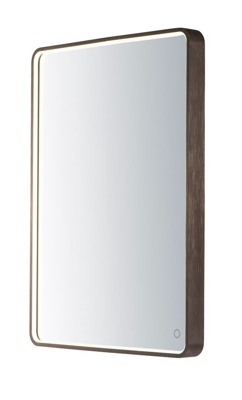 "Mirror 23.75"" 1-Light LED Mirror - Anodized Bronze"