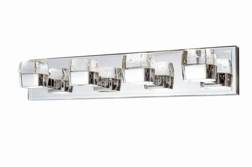 """Volt 27"""" Polished Chrome Vanity Lighting with AC Integrated LED"""