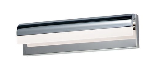 """Waterfall 18"""" Polished Chrome Vanity Lighting with PCB Integrated LED"""