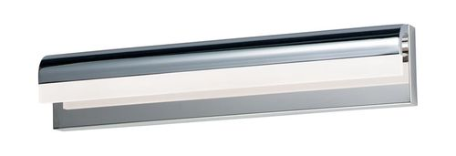 """Waterfall 24"""" Polished Chrome Vanity Lighting with PCB Integrated LED"""