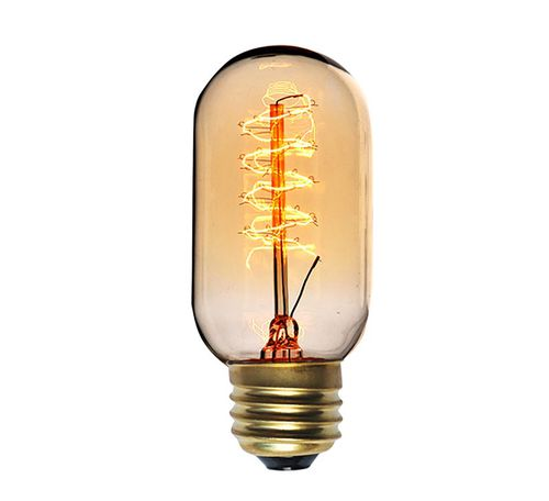 40 W Incandescent Light Bulb with Clear Finish