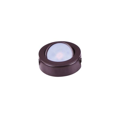 """CounterMax MX-LD-AC 2.75"""" Under Cabinet Disc in Anodized Bronze"""