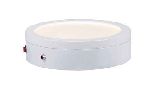 "Wafer 7"" 1-Light Flush Mount - White"