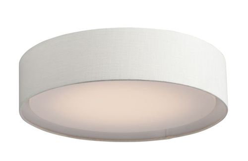 "Prime 20"" 5-Light Flush Mount - White"
