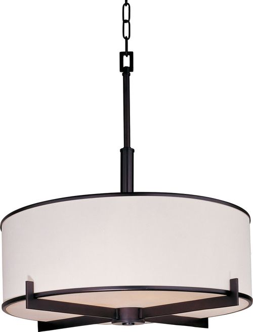 """Nexus 24.5"""" Entry Foyer Chandelier with 4 Lights - Oil Rubbed Bronze"""