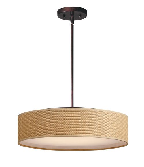 """Prime 20"""" x 6.5"""" Oil Rubbed Bronze Single Pendant with 5 Lights - (Steel material) - 783209212695"""