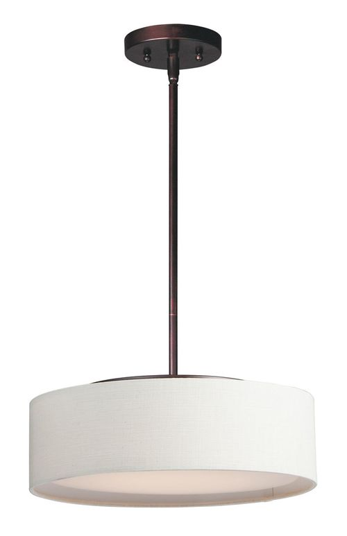 """Prime 16"""" x 6.5"""" Oil Rubbed Bronze Single Pendant with 3 Lights - (Steel material) - 783209212558"""