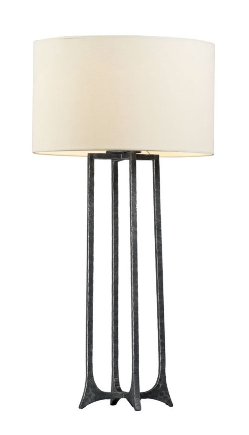 """Anvil 31"""" Table Lamp in Natural Iron"""