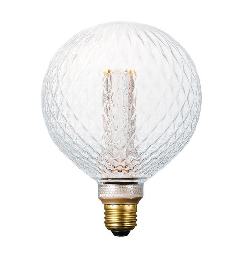 3.5 W Dimmable LED Light Bulb with Clear Prismatic Finish
