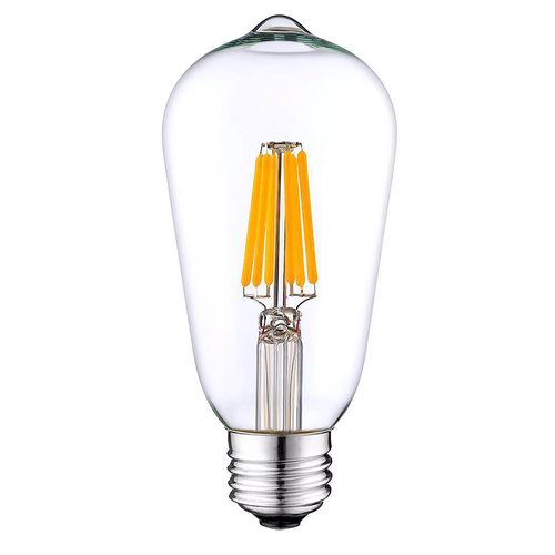 6 W LED Light Bulb with Clear Finish